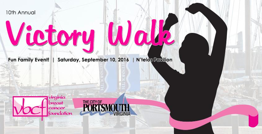 10th Annual Victory Walk @ N'Telos Pavilion   Portsmouth   Virginia   United States