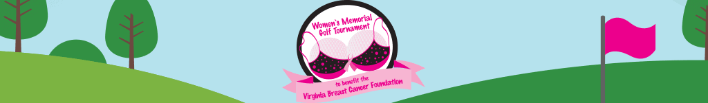 Women's Memorial Golf Tournament Logo Banner